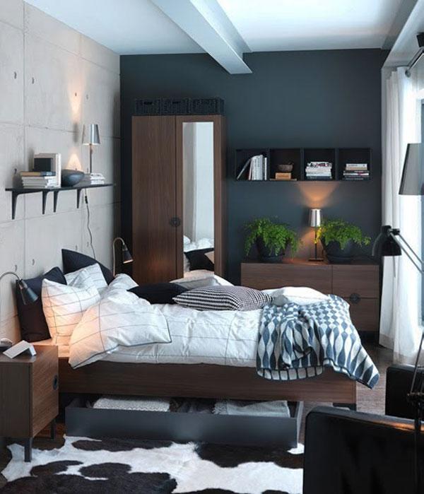 1- küçük yatak odası